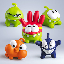 набор 14 - «Cut the Rope», 5 фигурок